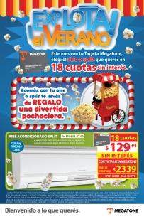 Tapa catálogo de productos con promo